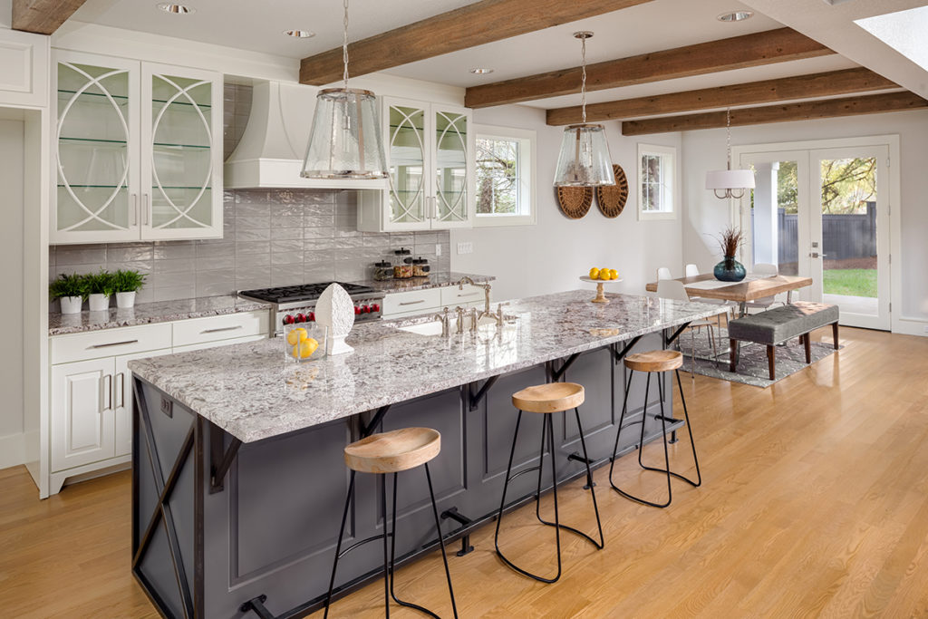 Staged Kitchen gorgeous design. Real estate tips. ProTraining